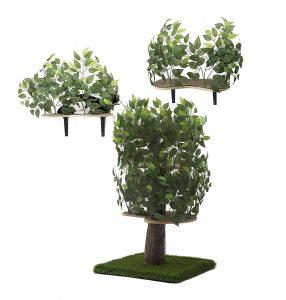 cat tree that looks like tree on2pets