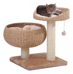 PetPals Paper Rope Bowl Stylish Cat Tree