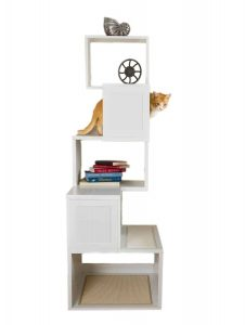 The Sebastian 67 Inch Modern Cat Tree