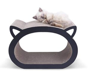 MushroomCat Face Cute Modern Cat Scratcher Bed