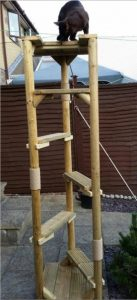 Skyladder Outdoor Cat Tree