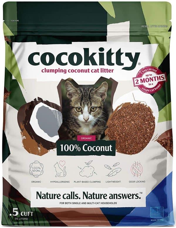 coconut cat litter reviews image
