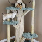 Cat Playhouse – A Cat Tree for Large Cats that Looks Like a Real Tree