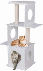 Goodlife Modern Cat Tree With 3 Floors