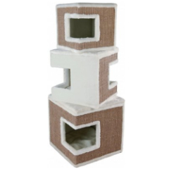 Trixie Lilo 48.2-in Faux Fleece Modern Cat Tree & Condo